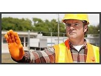 TRAFFIC MARSHAL COURSE ON-LINE UK's#1 At your home comfort, pace & durring Jobs. £55.00.