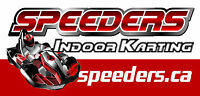 SPEEDERS Now Hiring Part Time Track Staff