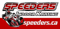 SPEEDERS Indoor ProKarts Apply Online speeders.ca/jobs