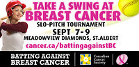 Team Needed-Batting Against Breast Cancer Slo-Pitch Tournament