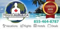 Discounted Vacations, Cheap Flights, Hotel Deals & More!