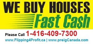 Sell Your Housein MINUTES, all CASH No commission