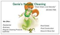 Genie's Natural Cleaning