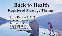 Back to Health Registered Massage Therapy