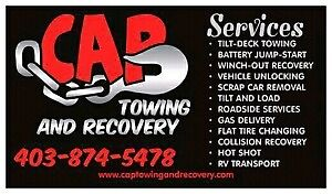 Tow truck services in Calgary (403) 874-5478