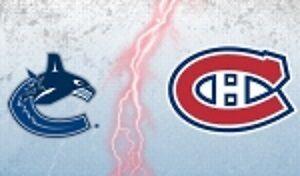 2 billets Montreal vs Vancouver 2 novembre 16 GRIS 334