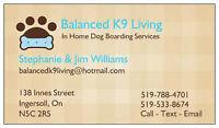 Balanced K9 Living - Ingersoll, On