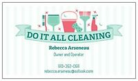 DO IT ALL CLEANING SERVICES- Business & Income property cleaning