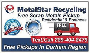 ★FREE Scrap Metal Pickup★Text 289-404-8479★