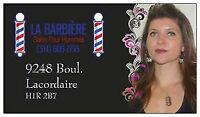salon de coiffure pour hommes LA BARBIÈRE