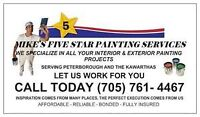 MIKE'S FIVE STAR PAINTING SERVICES