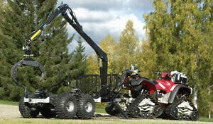 NEW ATV log loader forwarding trailer with grapple Mississauga / Peel Region Toronto (GTA) image 1