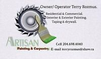 painting & handyman services.