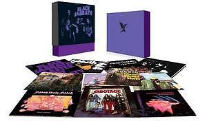 Black Sabbath Album Box Set Vinyl LP Heavy Metal Hard Rock Brand New