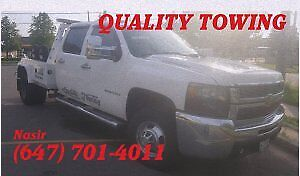 QUALITY TOWING SERVICE --- AFFORDABLE - FAST - RELIABLE (GTA)