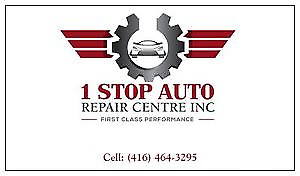 1 Stop Auto Repair -  Compete Auto Repair Shop In Brampton