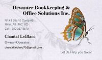 Are you looking for someone to clean up your books? Set it up?