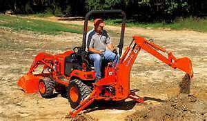 Compact tractor for rent