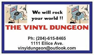 Vinyl Dungeon at Thirsty's Market 1111 ELLICE AVE