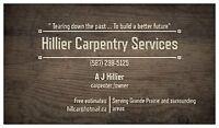 Hillier Carpentry Services