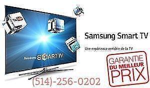 TVS MEILLEUR PRIX ..NOUS BATTONS TOUS LES PRIX!! TELEVISION SMART TV SAMSUNG LG SONY SHARP VIZIO HAIER HD!  514-256-0202