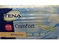 Tena Comfort Normal 42 Pads x 4 Packs = 168 pads for £25.00