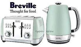 NEW Breville Kettle and Toaster