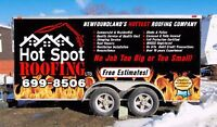 Hot Spot Roofing Ltd. Call today for your FREE ESTIMATE!!