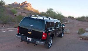 Leer Canopy - 2002-2006 GM Sierra/Silverado 6'6 Bed (Grey/silve)