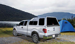 Leer Canopy SALE 2008+ Ford SuperDuty (All Cabs) 8' Bed (Red)