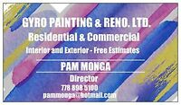 CALL NOW FOR ALL YOUR PAINT NEEDS - COMMERCIAL / RESIDENTIAL