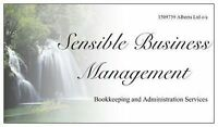 Sensible Business Management-Bookkeeping and Administration