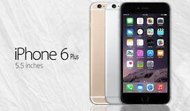 "Apple iPhone 6 plus 5.5"" 64GB Factory Unlocked Smartphone - Various Colours"