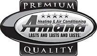 16 SEER air conditioner sale AMANA ASX16 $3200