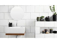 Wickes White Satin Ceramic Wall Tile 250 x 400mm x10