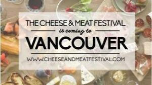 2 Tickets to Cheese & Meat Festival - $110