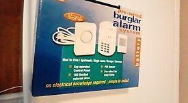 battery burglar alarm with pir sensor and key pad