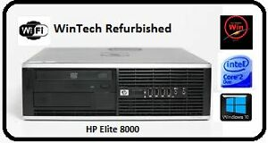 HP 8000 Elite Dual Core Desktop Computer Kirribilli North Sydney Area Preview