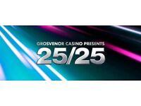 GROSVENOR CASINO SHEFFIELD - POKER SERIES 25/25 GTD £25K