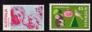 Australian Stamps 1976 Christmas MUH Coffin Bay Lower Eyre Peninsula Preview