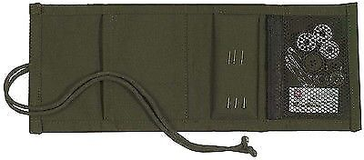 Olive Drab Canvas Military Survival Sewing Kit