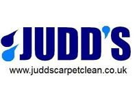 Judd's Carpet & Upholstery cleaning services