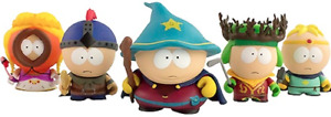 BNIB  South Park and the Stick of truth full set - kid Robot