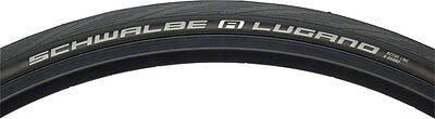 NEW Schwalbe Lugano Road Tire 700x25 Wire Bead Black with K-Guard Protection