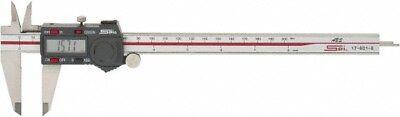 Spi 17-601-6 Absolute Electronic Caliper 0-80-200mm Hardened Stainless Steel