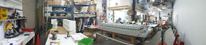All equipment for sign factory and printing
