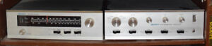 Dynaco SCA-80W Amp/AF6 AM/FM Tuner/Quadapter/A25/A10 speakers