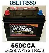 FORD TERRITORY BATTERY NEW 550CCA Croydon Park Port Adelaide Area Preview