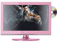 Soundwave Pink 19″ LCD/DVD combi