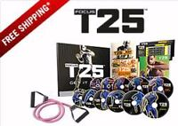 Brand New T25 workout 10 DVDs plus Resistance Band